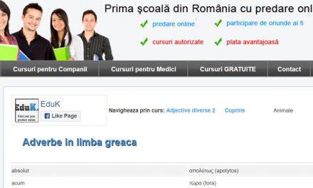 EduK.ro – Cursuri gratuite de limbi străine