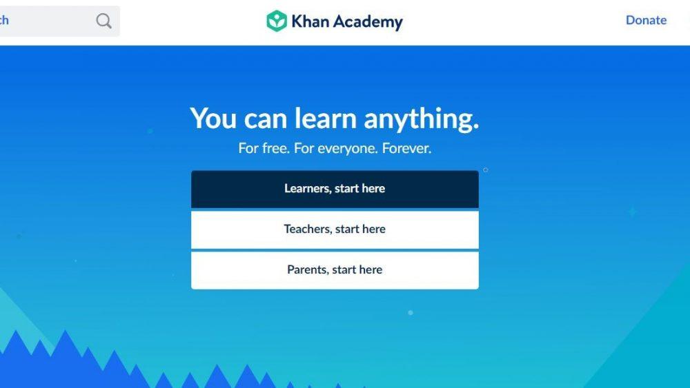 Khan Academy – Academie online