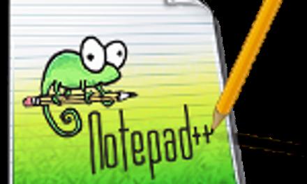 Notepad++ – Editor cod gratuit