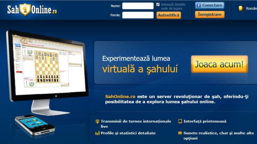 Sahonline.ro – Șah online și pentru mobil