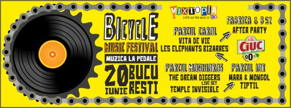 Bicycle Music Festival 2015 - festival gratuit