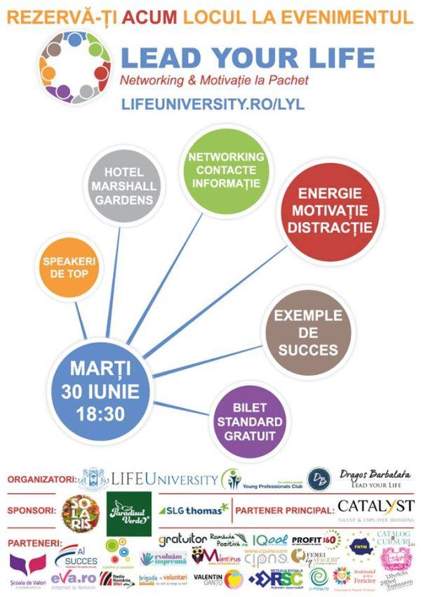 Lead Your Live - conferinta iunie 2015
