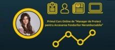 curs manager de proiect - online