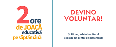 2. Apel la voluntariat - 2 ore