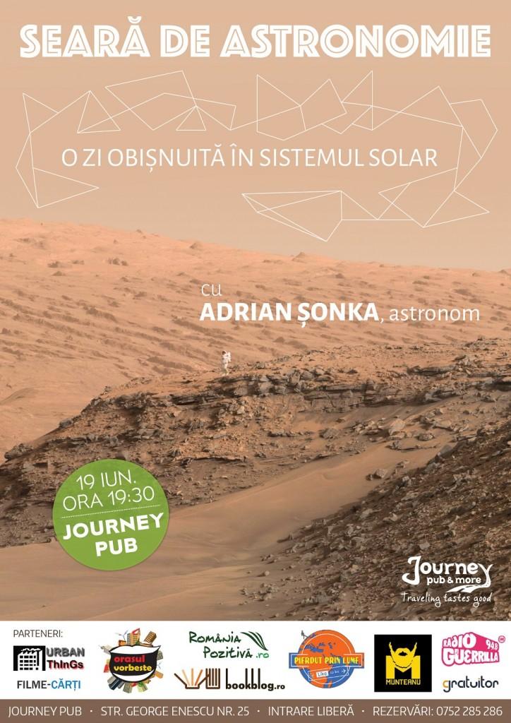 O zi obisnuita in sistemul solar - Journey Pub