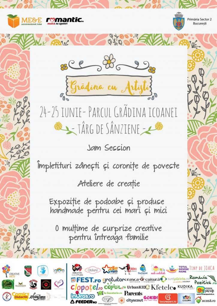 Targ de Sanziene - Gradina cu Artisti - 24-25 iunie 2017