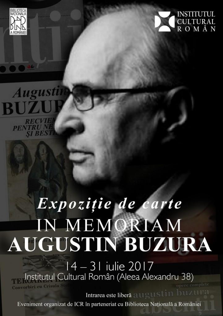 Expozitie in memoriam Augustin Buzura - ICR