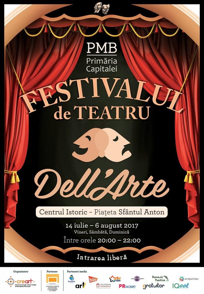 Festivalul de Teatru Dell Arte 2017