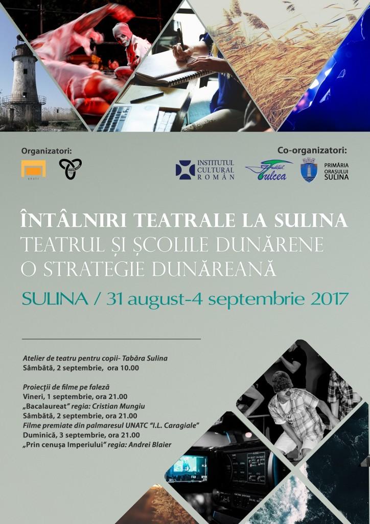 Intalniri teatrale Sulina