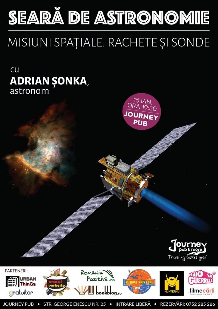 Seara de astronomie - Adrian Sonka - Journey Pub