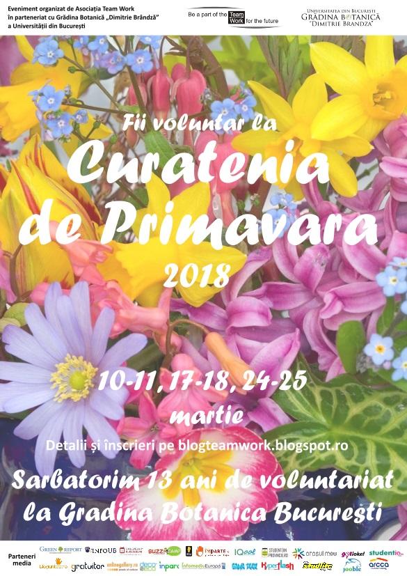 Afis Curatenia de Primavara 2018 - comunicat