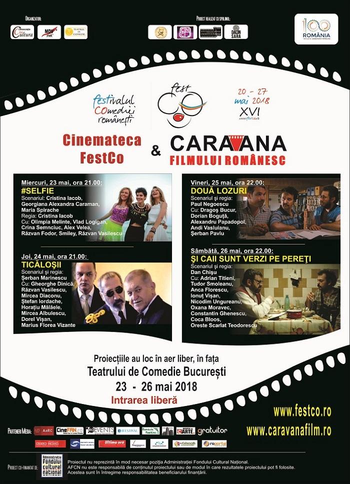 Cinemateca festCO si Caravana filmului romanesc 2018