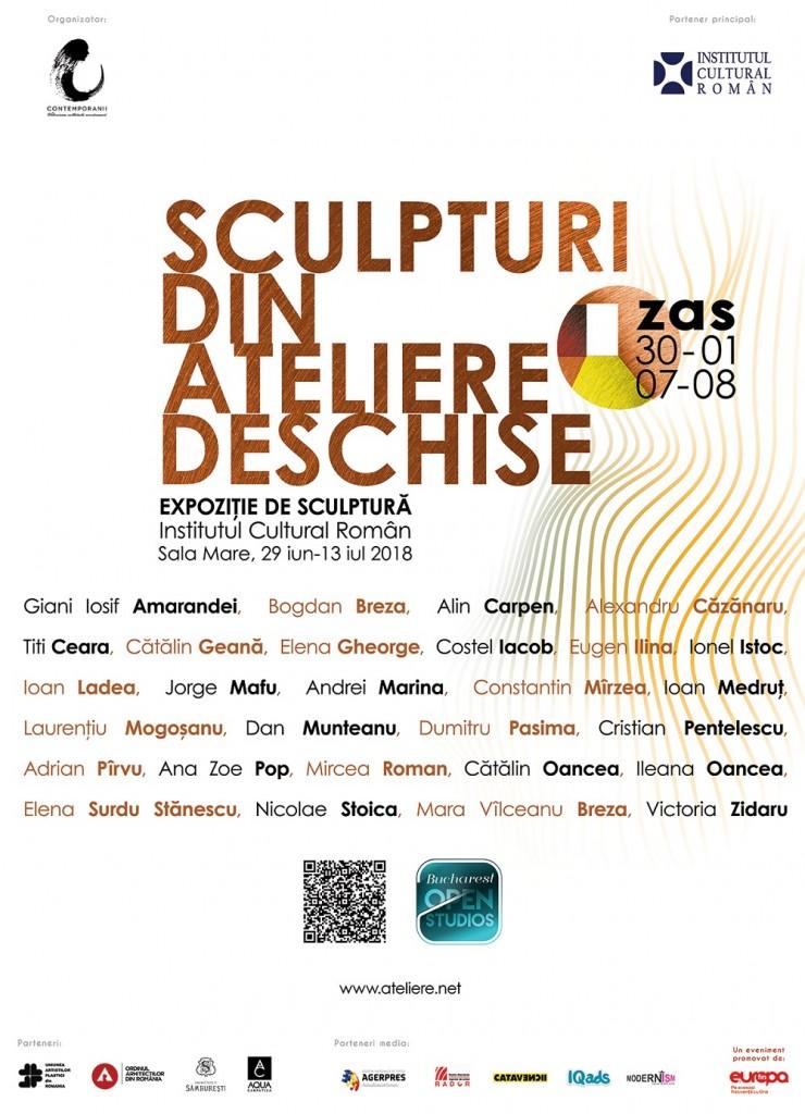 Zilele Atelierelor Deschise de Sculptură 2018