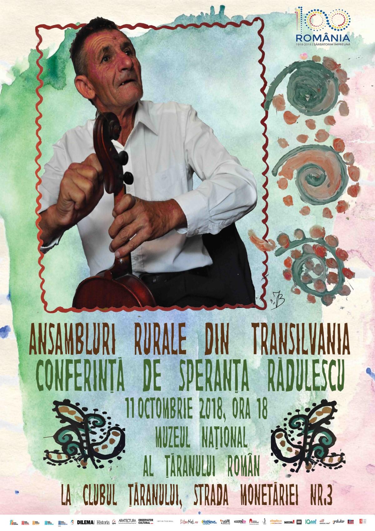 Afis_Conferință Speranta Radulescu_11 oct 2018