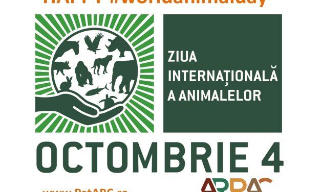 Ziua Internaţională a Animalelor – 4 octombrie &#821...