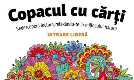 CREART anunță o nouă ediție Copacul cu Cărți în Parcul Cișmigiu