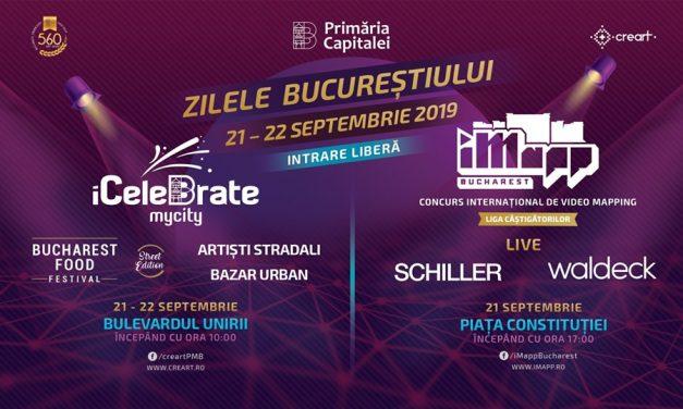 Zilele Bucureștiului – iCeleBrate my city! și iMapp ...